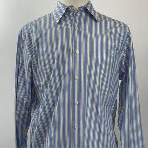 J Crew Men's Button Down Long Sleeve Shirt Size M